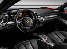 Салон Ferrari 458 Italia