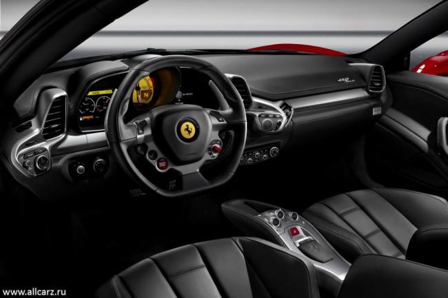 Фото салона Феррари 458 Italia