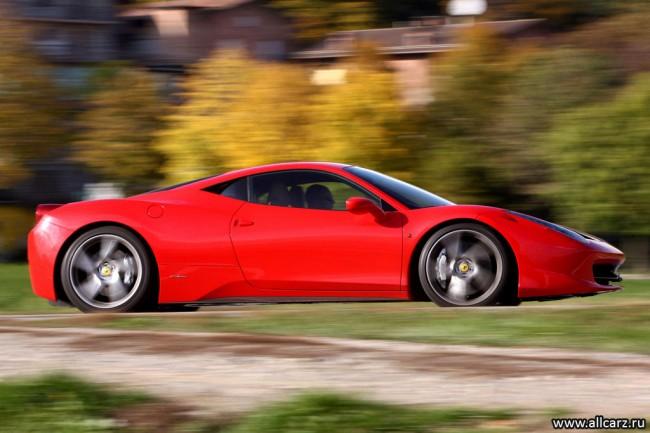 Ferrari 458 Italia фото