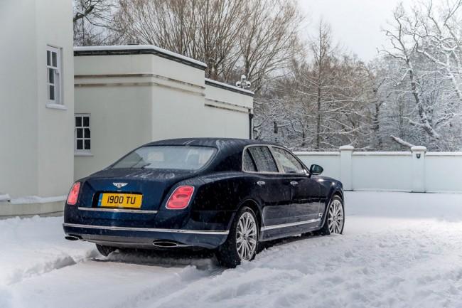 Обновленный Bentley Mulsanne 2015
