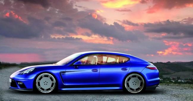 Фото Porsche Panamera от ателье 9ff