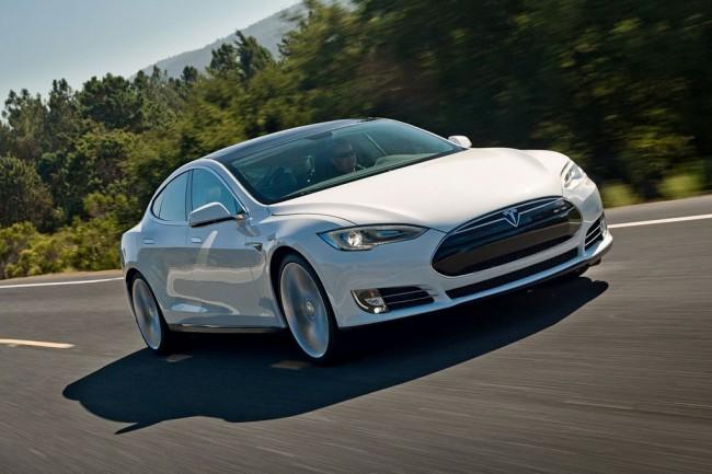Электрокар Tesla Model S