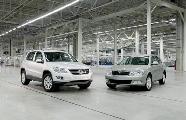 Завод Volkswagen под Калугой