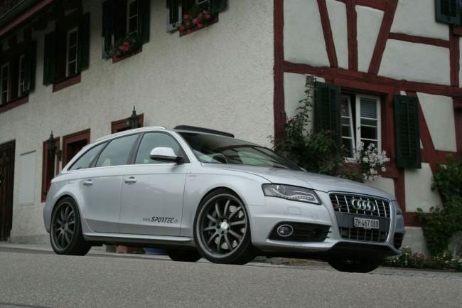 Тюнинг Audi S4 Avant от ателье Sportec