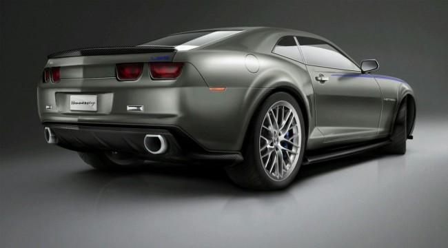 Мускул-кар Chevrolet Camaro от ателье Hennessey