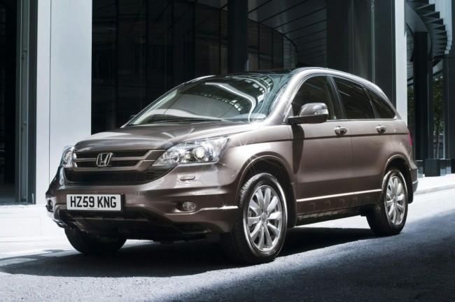 Хонда представила обновленный СРВ 2010