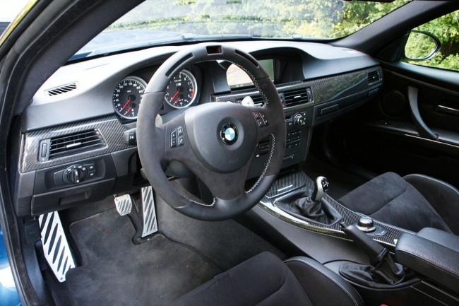 Салон BMW M3 E92 от ателье Manhart Racing