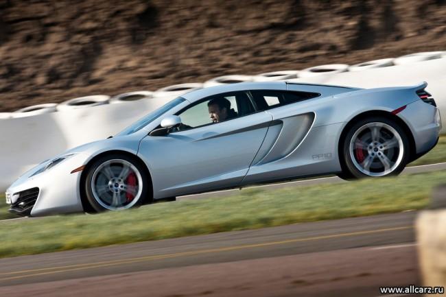 Новый McLaren MP4 фото