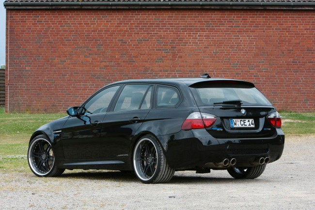 BMW M3 Estate от ателье Manhart Racing