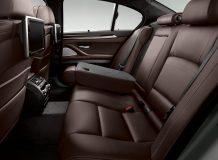 Интерьер новой BMW 5-Series фото