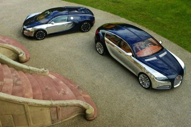 Фото Bugatti 16 C Galibier и Bugatti Veyron