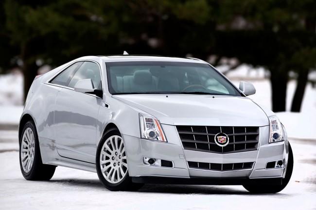 Стильный Cadillac CTS Coupe