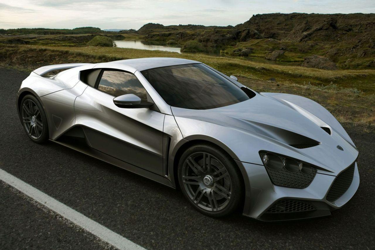 Фото нового Zenvo ST1