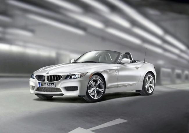 Новую BMW Z4 покажут в Детройте