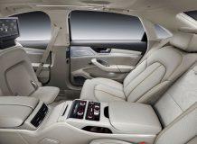 Интерьер Audi A8 L 2016