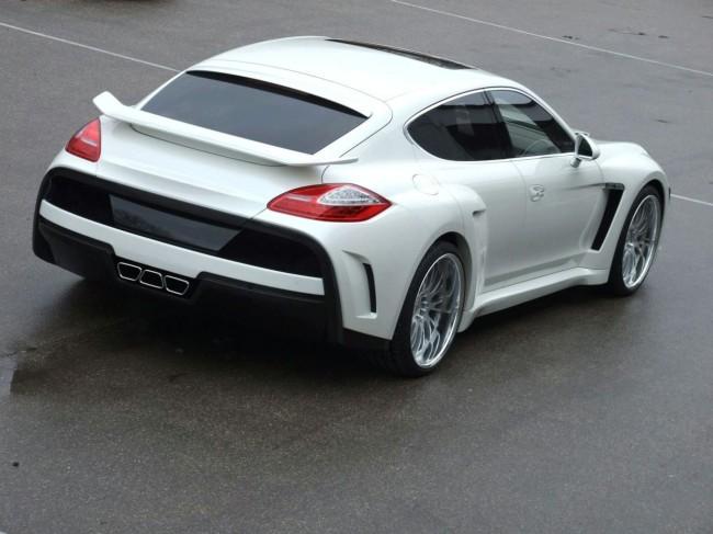 Фото тюнинг Porsche Panamera