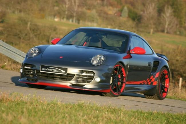 Тюнинг Porsche 997 Turbo от ателье speedART