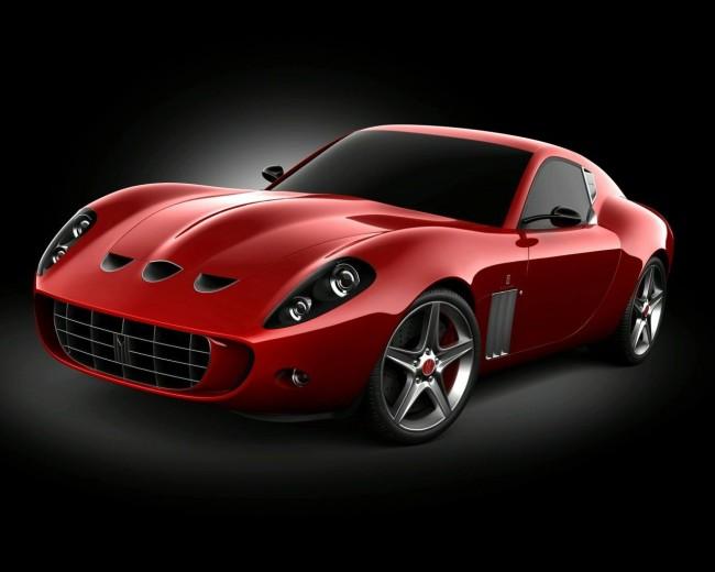 Суперкар Vandenbrink Ferrari 599 GTO Ecurie GTX