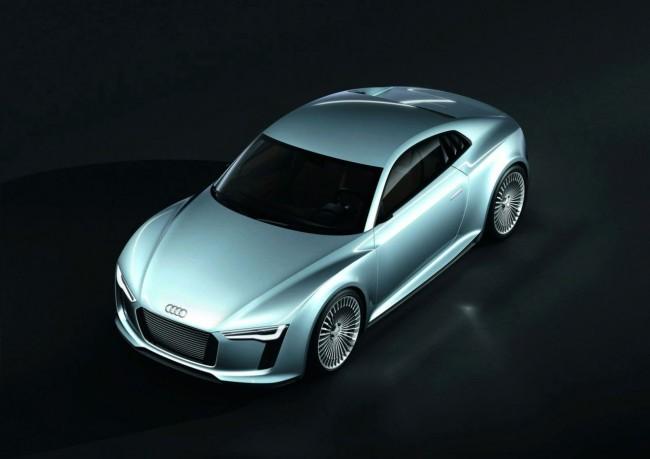 Фото Audi e-Tron Detroit Showcar