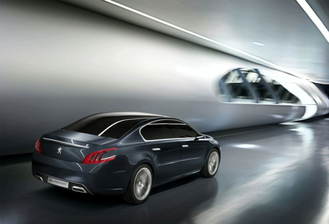 Пежо в Женеве покажет концепт 5 by Peugeot