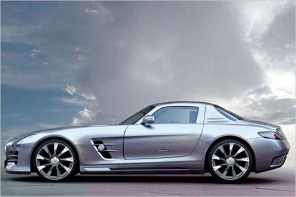 Ателье AK-Car Design готовит обвес для SLS AMG