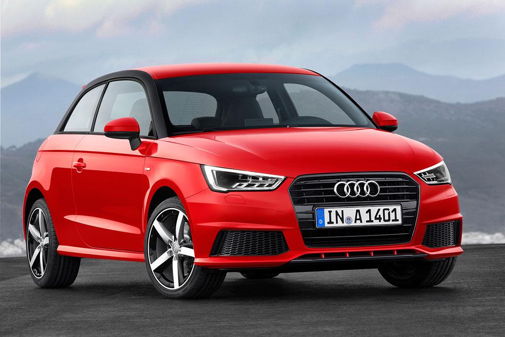 Обновленная Audi A1 2015