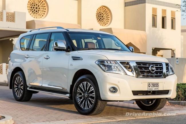 Обновленный Nissan Patrol 2014