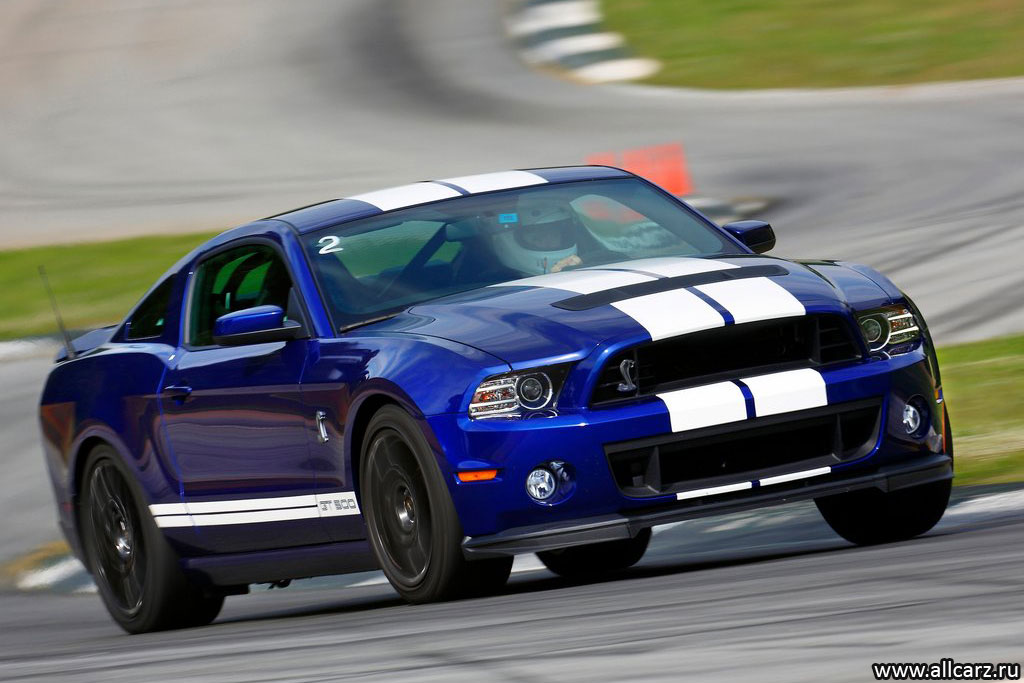 Фото Ford Mustang Shelby GT500 2013