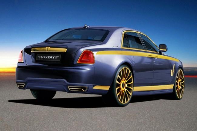 Фото тюнинг Mansory Rolls Royce Ghost
