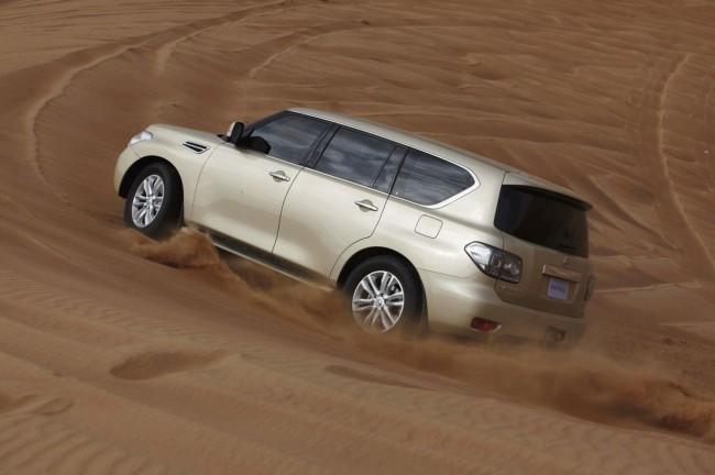 Новый Nissan Patrol 6 поколения (Y62)