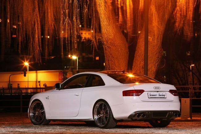 Audi S5 White Beast от ателье Senner