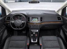Салон Volkswagen Sharan II