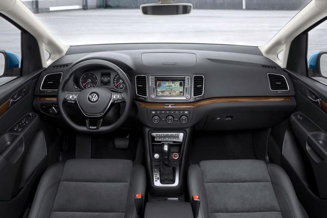 Салон Volkswagen Sharan 2