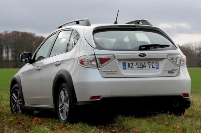 Кроссовер XV на базе Subaru Impreza