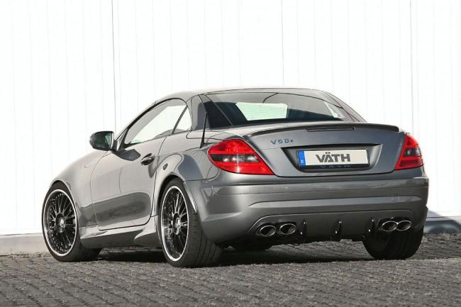 Тюнинговый Mercedes SLK 55 AMG от ателье VATH Performance