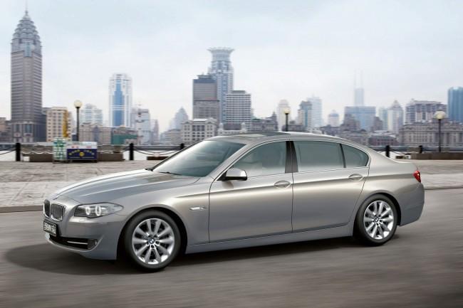 Длиннобазая версия BMW 5 Long для Китая