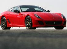 Фото новой Ferrari 599 GTO