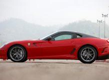 Новый суперкар Ferrari 599 GTO