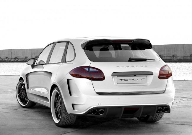 Тюнинговые Porsche Cayenne 2 от ателье TopCar представят на автосалоне в Москве