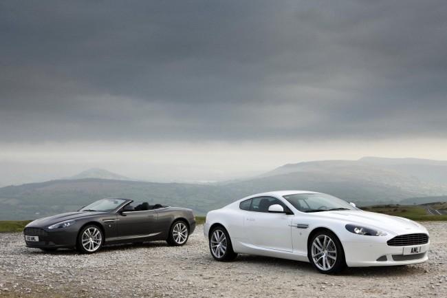 Обновленные купе и кабриолет Aston Martin DB9 - фото
