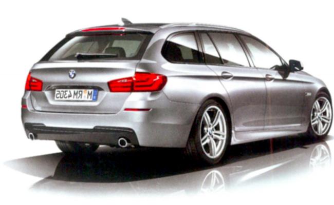 Новый универсал BMW 5 F11 с M-Sport пакетом