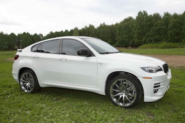 Российские тюнеры из ателье Status Design доработали кроссовер BMW X6