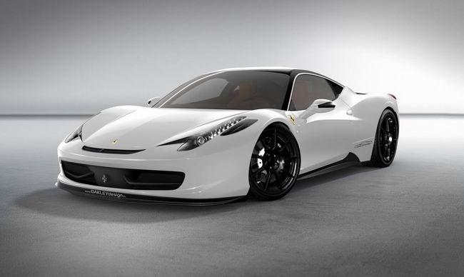 Фото тюнинг Ferrari 458 Italia от ателье Oakley Design