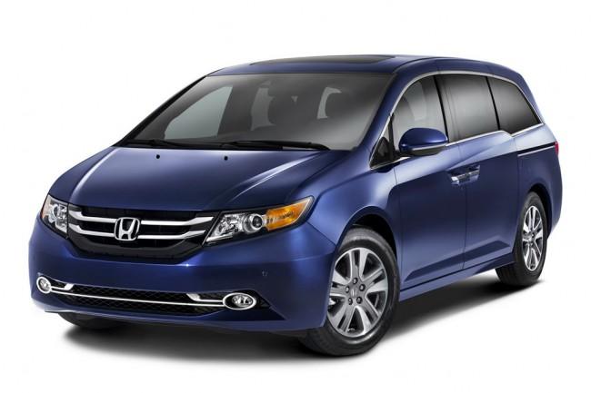 Фото новой Honda Odyssey 2014