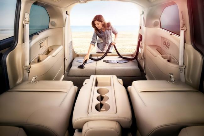 Система HondaVac в бигижнике Odyssey