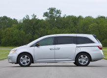Новый минивен Honda Odyssey IV