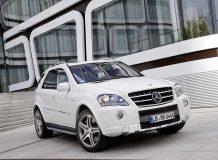 Фото Mercedes ML 63 AMG (W164)