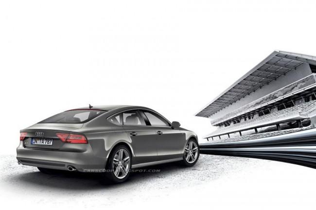 Новая Audi A7 Sportback получит два варианта пакета S-Line