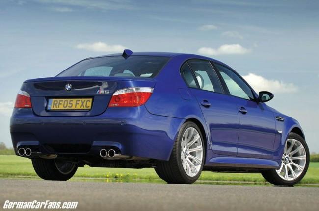 Компания БМВ свернула выпуск модели BMW M5 E60