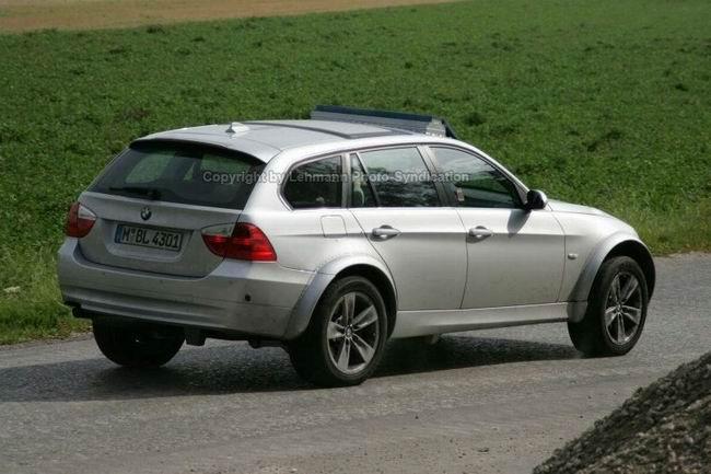 Шпионские фото кроссовера BMW X4
